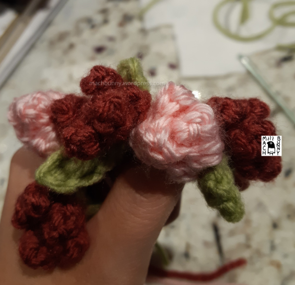 Flower wreath necklace for Lush the spring fox