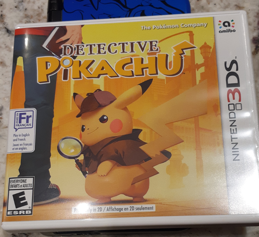 Detective Pikachu game cover