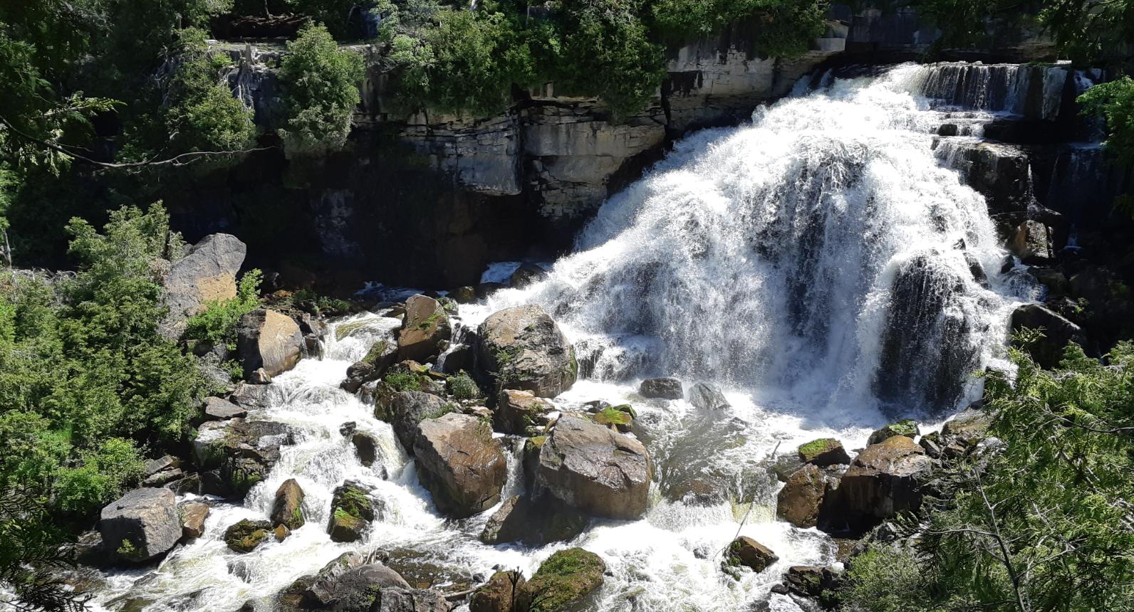 Inglis Falls, full view
