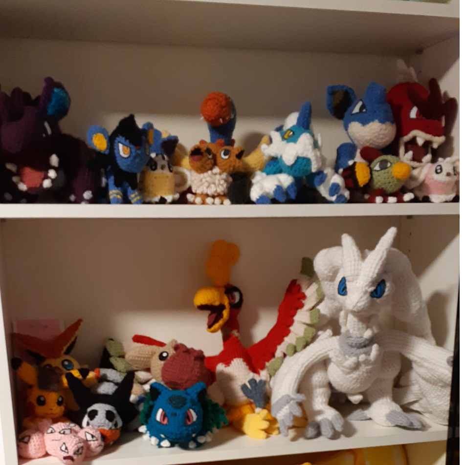 Amigurumi collection made in 2019