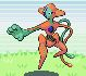 Deoxys sprite from Pokemon Ruby and Sapphire