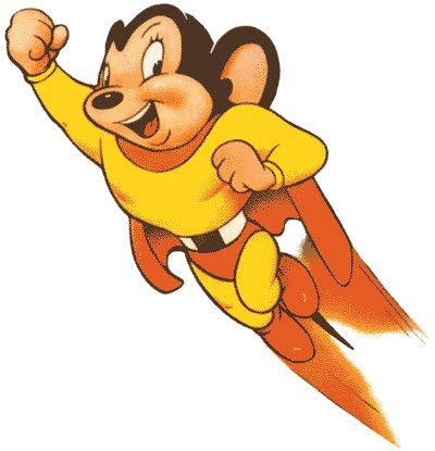 Mighty Mouse official art